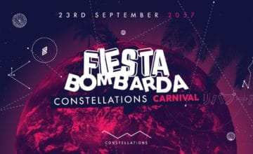 Fiesta Bombarda is back with an intersteller line up.